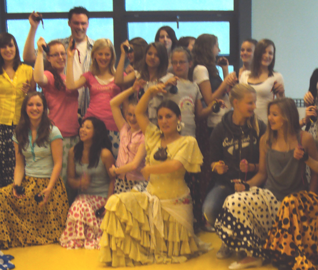 Spaanse flamenco workshop